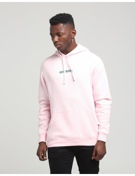 Odd Future Blue Logo Pullover Hood Pink by Odd Future