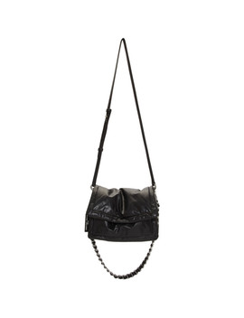 Sac En Cuir Noir 'the Pillow' by Marc Jacobs