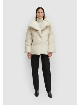 Annecy Down Jacket Ivory by Toteme