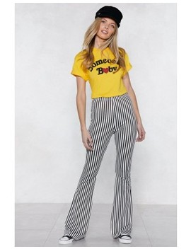 Living On A Thin Line Flare Pants by Nasty Gal