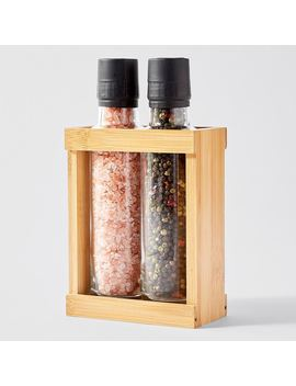 The Fabulous Food Company 2 Piece Salt Grinder Set   420g by Target