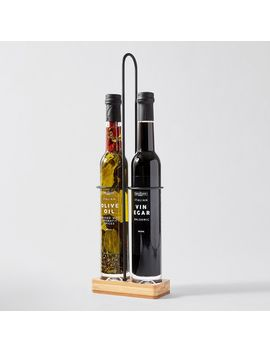 The Fabulous Food Company 2 Piece Infused Oil/Balsamic Vinegar Set In Wire   760ml by Target