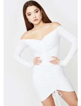 Angels Ruched Mini Dress by Sndys. The Label