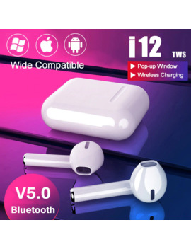 I9s I12 Tws Headphone Wireless Bluetooth 5.0 Earphone Mini Earbuds With Mic Charging Box Sport Headset For Xiaomi Redmi I Phone by Ali Express.Com