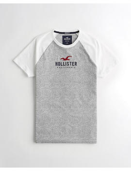Colorblock Muscle Graphic Tee by Hollister