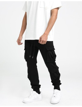 New Slaves Militia Track Pant Black by New Slaves