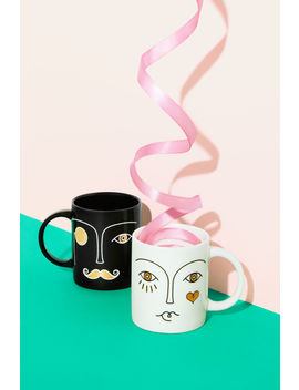 2 Pack Porcelain Mugs by H&M