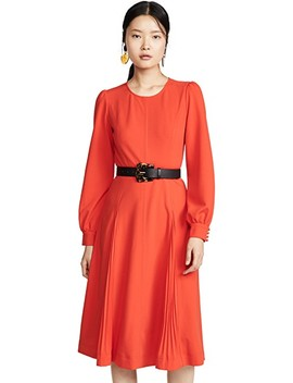 Knit Crepe Dress by Tory Burch