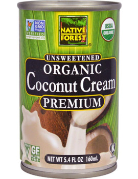 Native Forest Organic Premium Coconut Cream Unsweetened    5.4 Oz by Native Forest