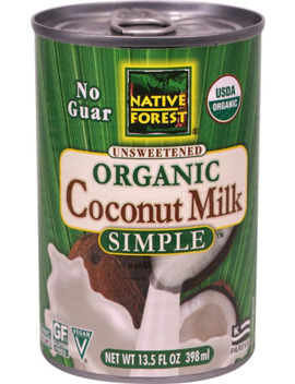 Native Forest Organic Unsweetened Coconut Milk Simple    13.5 Fl Oz by Native Forest