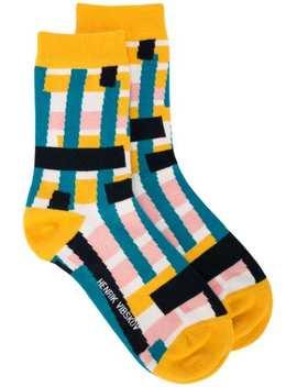 Skyline Socks by Henrik Vibskov
