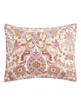 Blush And Terracotta Floral Bettina Bedding Set by World Market