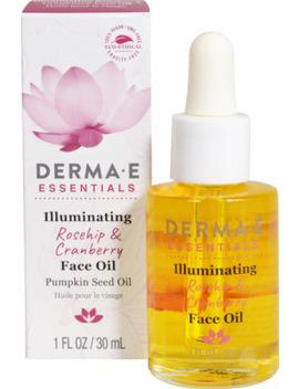 Derma E Illuminating Rosehip & Cranberry Face Oil    1Fl Oz by Derma E