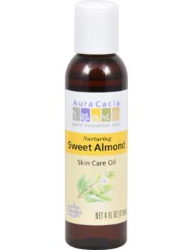 Aura Cacia Skin Care Oil Sweet Almond    4Fl Oz by Aura Cacia