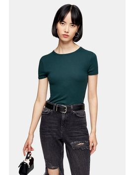 Forest Green Everyday T Shirt by Topshop