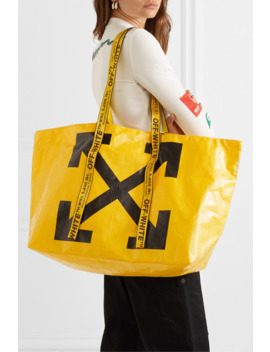 Commercial Printed Pvc Tote by Off White