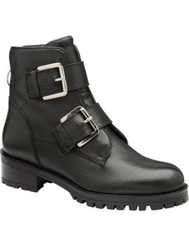 Darfield Leather Ankle Boots by Ravel