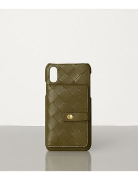 Iphone X/Xs Case In Intrecciato Nappa by Bottega Veneta