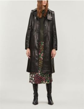 Leather Trench Coat by The Kooples