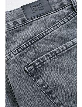 Bdg − Schwarze Dad Jeans Mit Acid Waschung by Bdg Shoppen