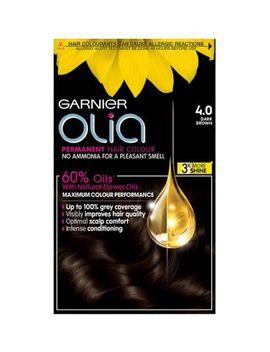 Garnier Olia 4.0 Dark Brown Permanent Hair Dye by Garnier