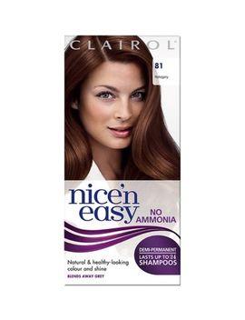 Nice N Easy No Ammonia Hair Dye 81 Mahogany by Nice N Easy