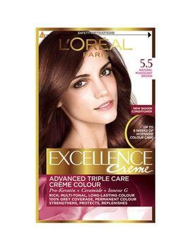 L'oreal Excellence 5.5 Natural Mahogany Brown Hair Dye by L'oreal
