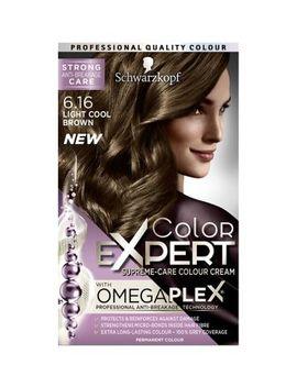 Schwarzkopf Color Expert Light Cool Brown 6.16 Hair Dye by Schwarzkopf