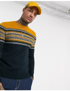 Pull&Bear Sweater In Navy by Pull&Bear