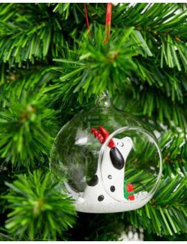 Bola De Navidad Abierta Barney The Dog De Sass &Amp; Belle by Sass & Belle
