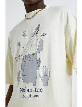 Nolan Tec Solutions Light Yellow T Shirt by Nolan