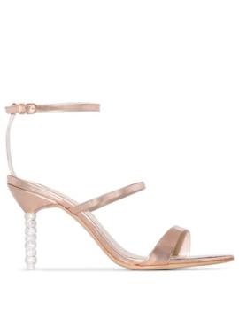 Rosalind 85mm Crystal Heel Sandals by Sophia Webster