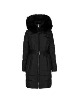 Belt Puffer Jacket by Dkny
