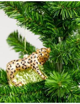 Adorno Navideño Con Diseño De Leopardo De Sass &Amp; Belle by Sass & Belle