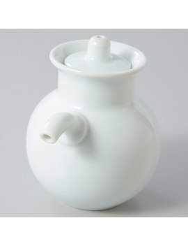 Hakuji Porcelain Soy Sauce Pot by Muji