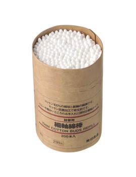 Thin Cotton Buds Refill X 200 by Muji