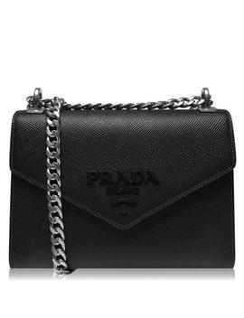 Monogram Shoulder Bag by Prada