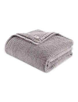 Woolrich® Burlington Berber Full/Queen Blanket In Grey by Bed Bath And Beyond