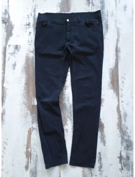 Black Skinny Pants Sz L by Ann Demeulemeester  ×