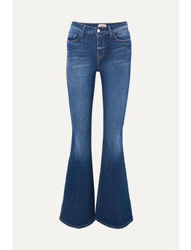 Solana High Rise Flared Jeans by L'agence