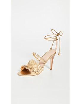 Flora Heel Sandals by Ulla Johnson