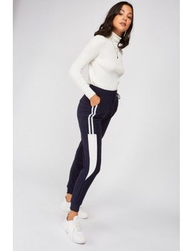 Stripe Side Track Pants by Everything5 Pounds