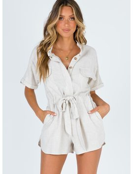 Xanthe Playsuit by Princess Polly