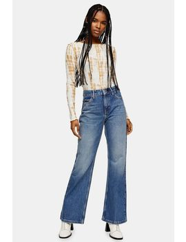 Topshop Two 90s Rigid Flare Jeans by Topshop