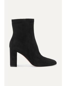 70 Suede Ankle Boots by Gianvito Rossi