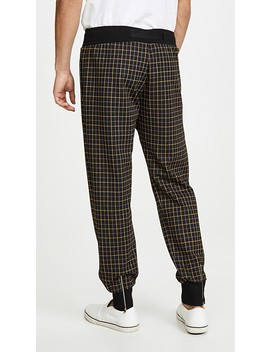 Plaid Belted Joggers by Paul Smith