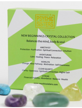 Psychic Sisters New Beginnings Crystals Set by Asos