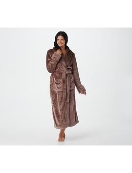 Berkshire Blanket Velvet Soft Robe With Plush Collar by Berkshire Blanket