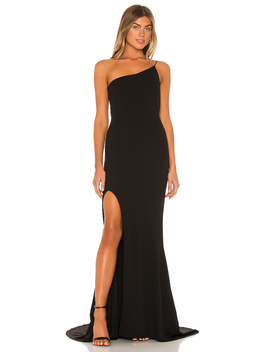 Jasmine One Shoulder Gown by Nookie