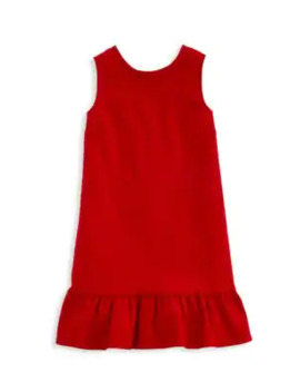 Little Girl's & Girl's V Back Ponte Dress by Vineyard Vines